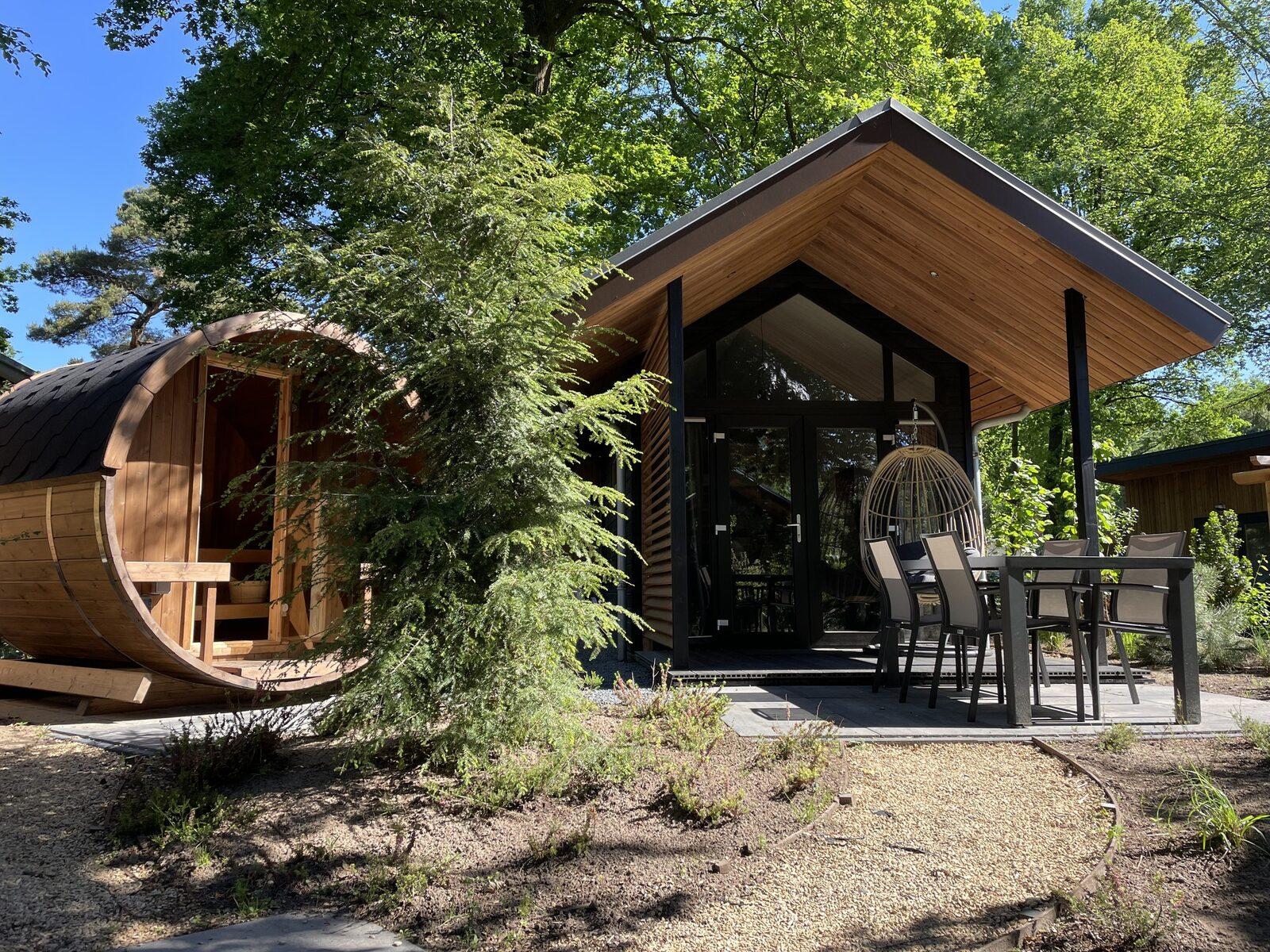 Tiny Lodge Eco 4 Personen (Sauna)