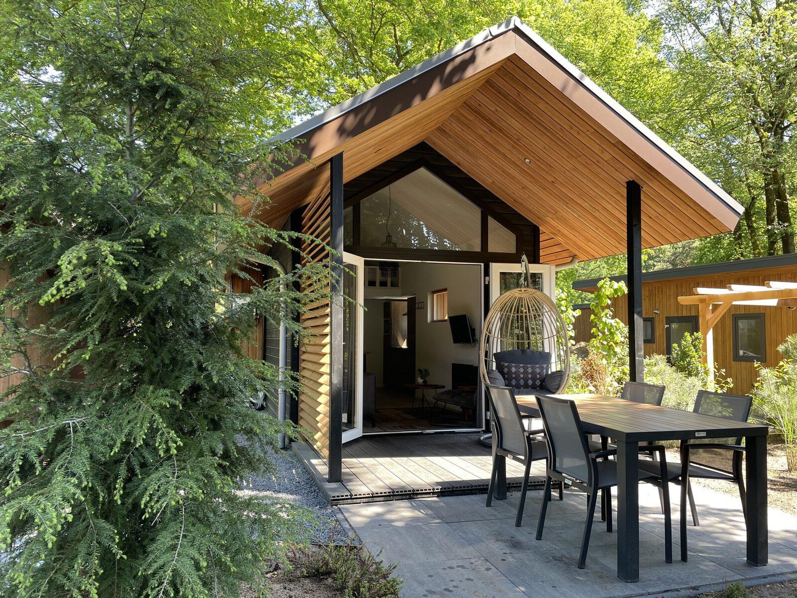 Tiny Lodge Eco 4 Personen (Wellness)