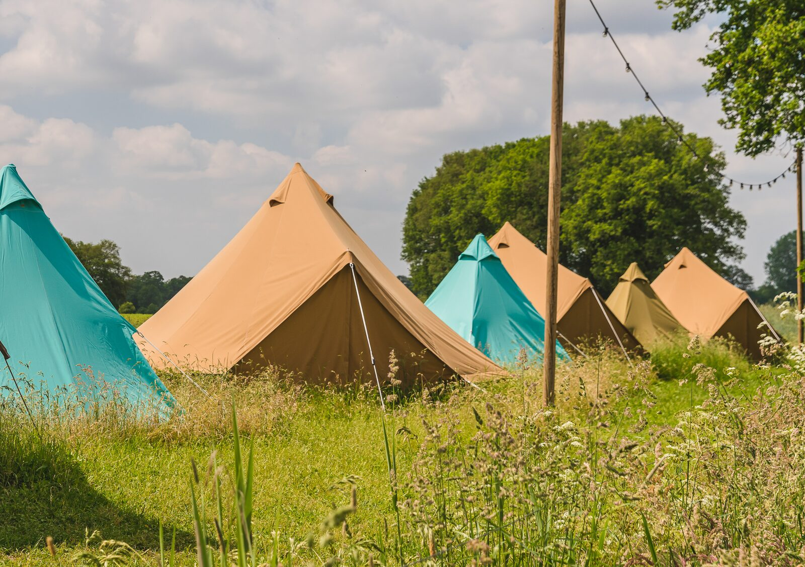 Pop-up glamping: Belltent| 2-4 pers.