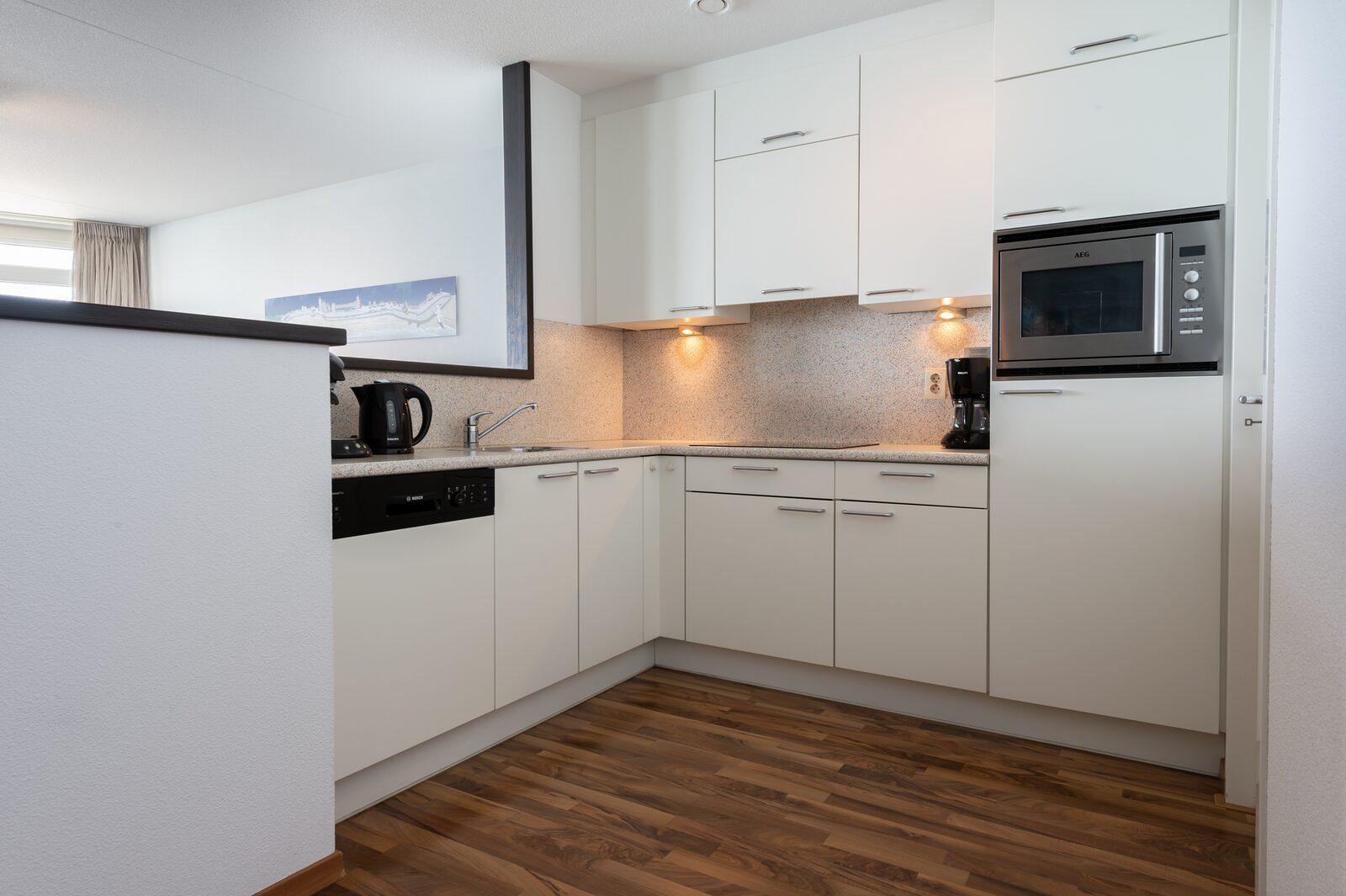 2-Zimmer Appartement mit Meerblick
