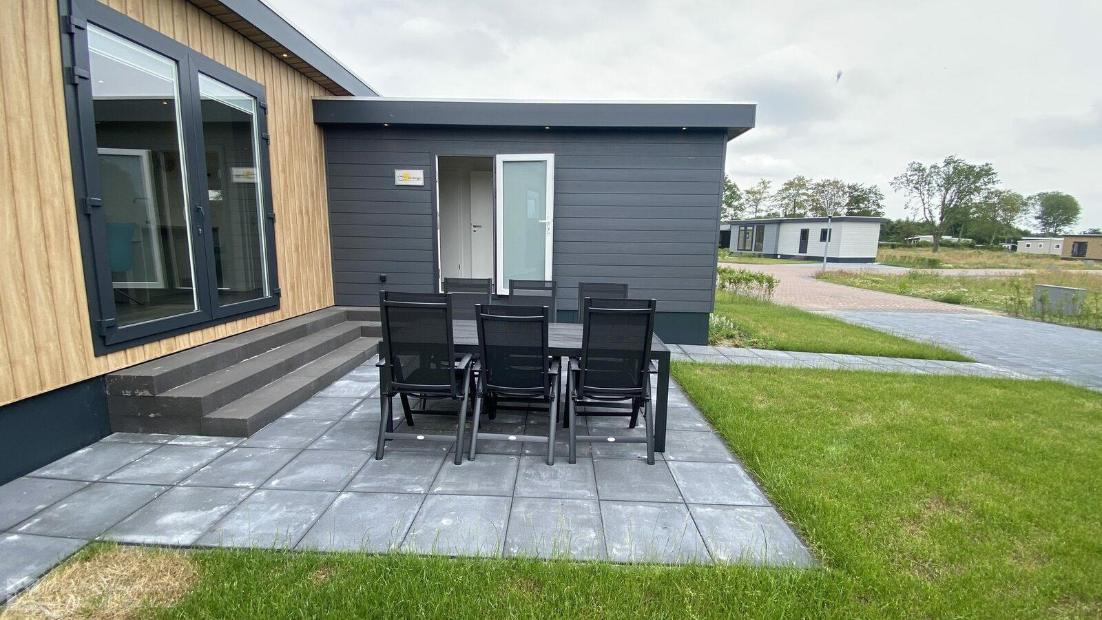 vakantiehuis Nederland, Zeeland, Scherpenisse vakantiehuis VZ1028 Luxe vakantiechalet in Scherpenisse