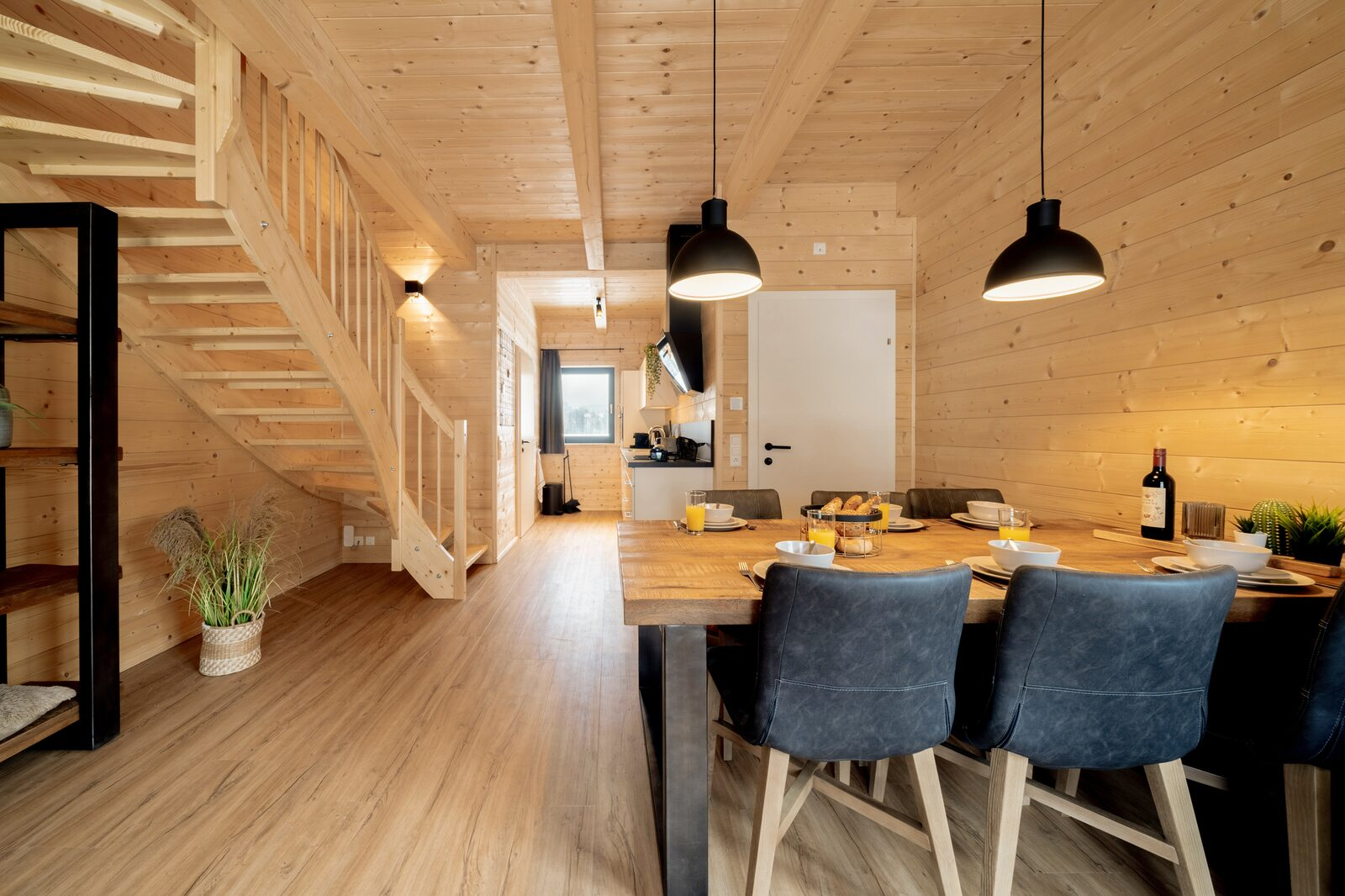 Three Residences for 6