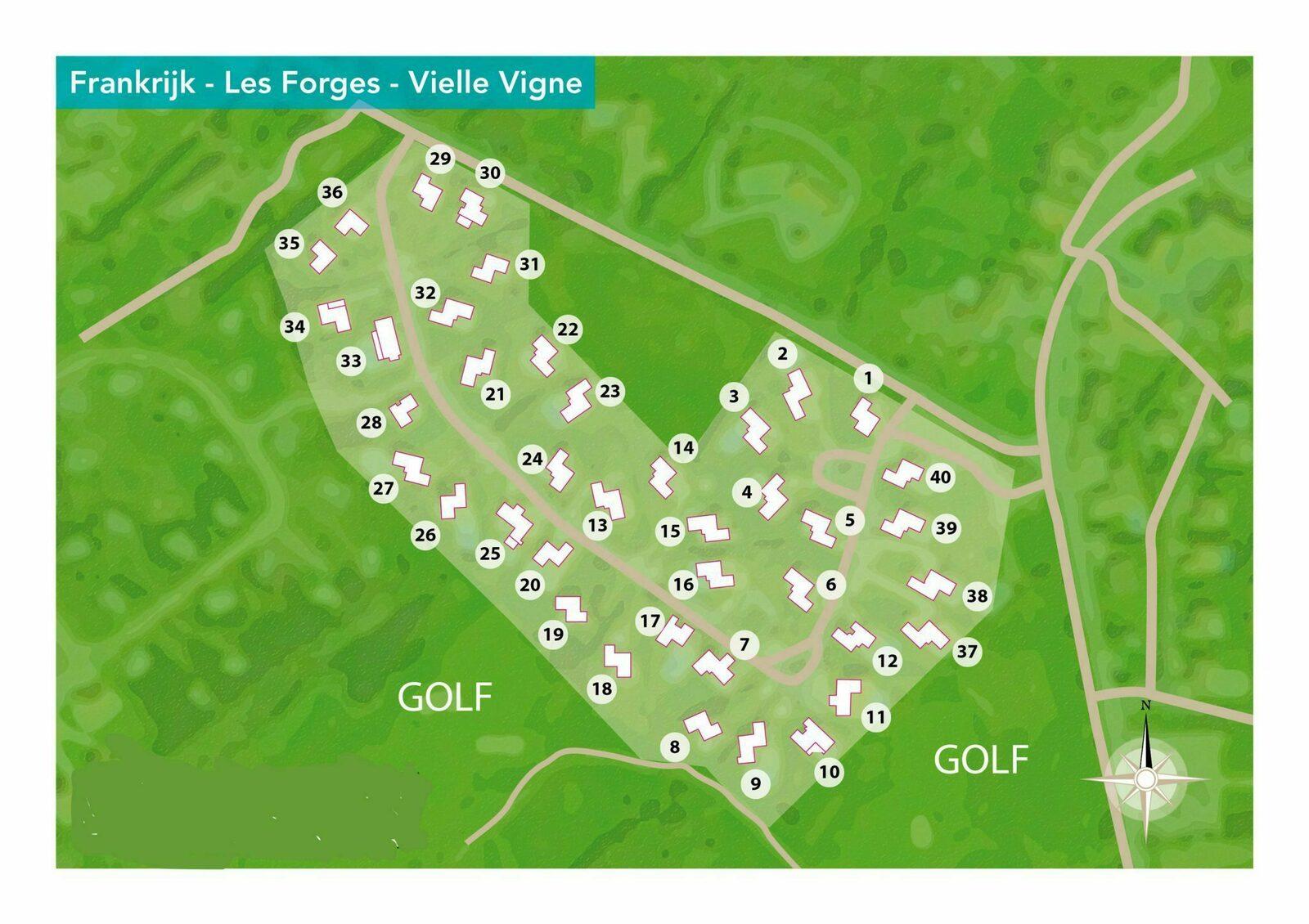 4-kamer villa | 6 personen Vieille Vigne