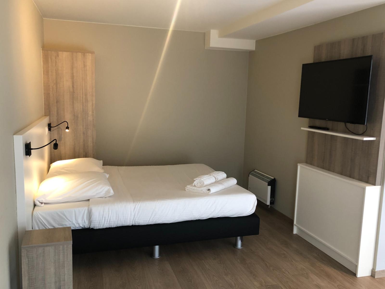 Comfort Suite - 2p | Slaapkamer - Mindervalide aangepast | Stadszicht