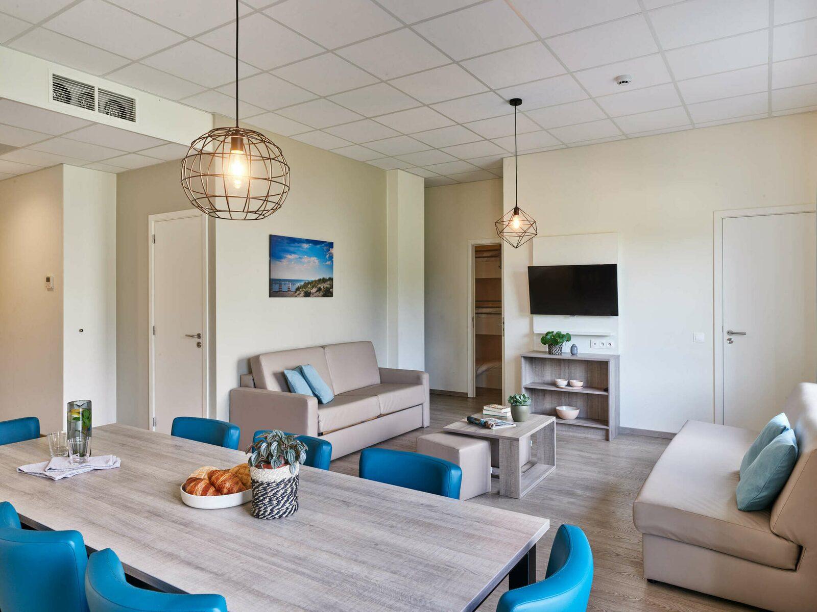 Comfort Suite - 7p | Slaapkamer - Slaaphoek - Zetelbed