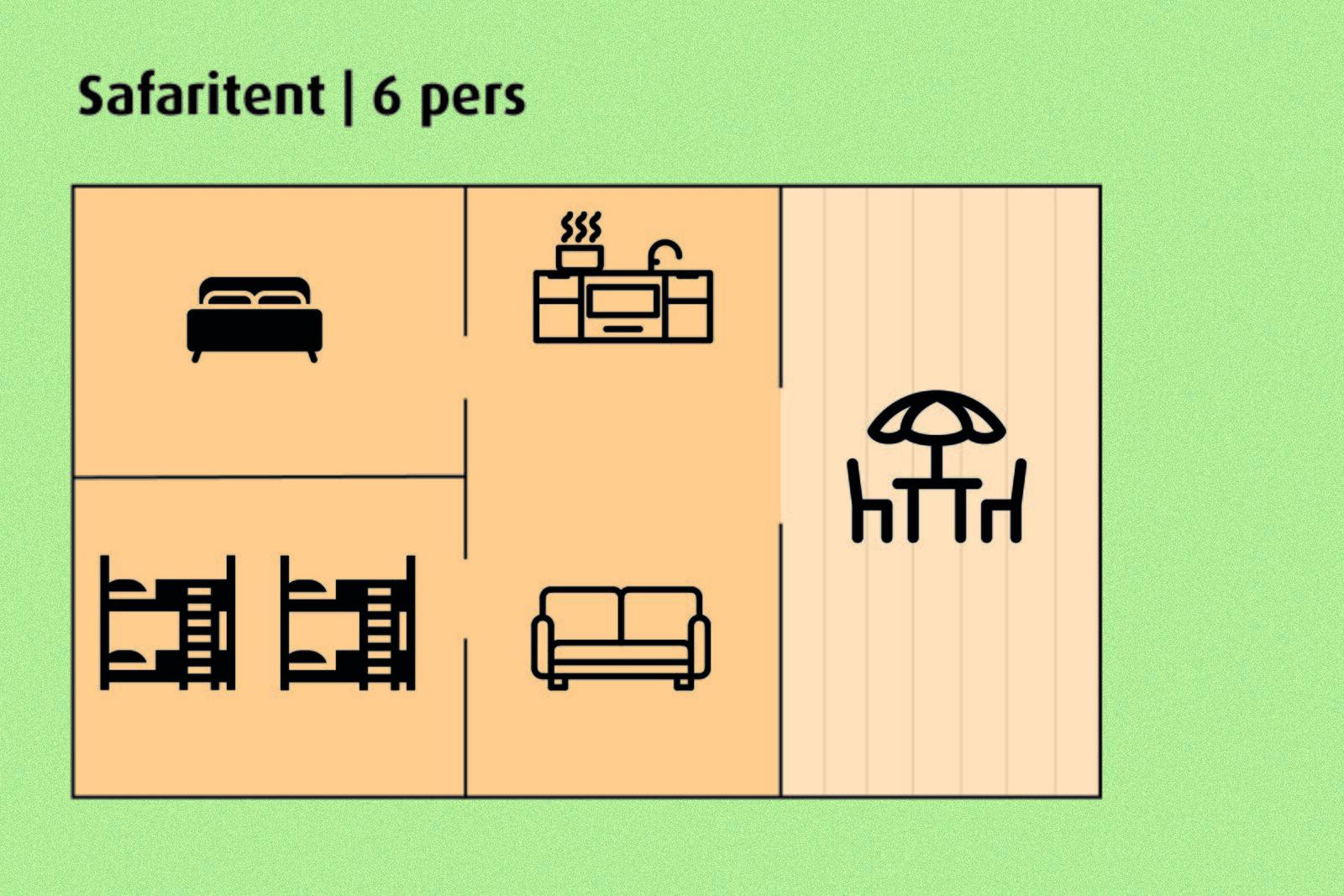 Safarizelt | 6 Personen