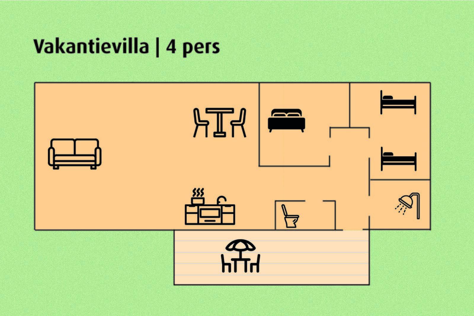 Ferienvilla | 4 Personen
