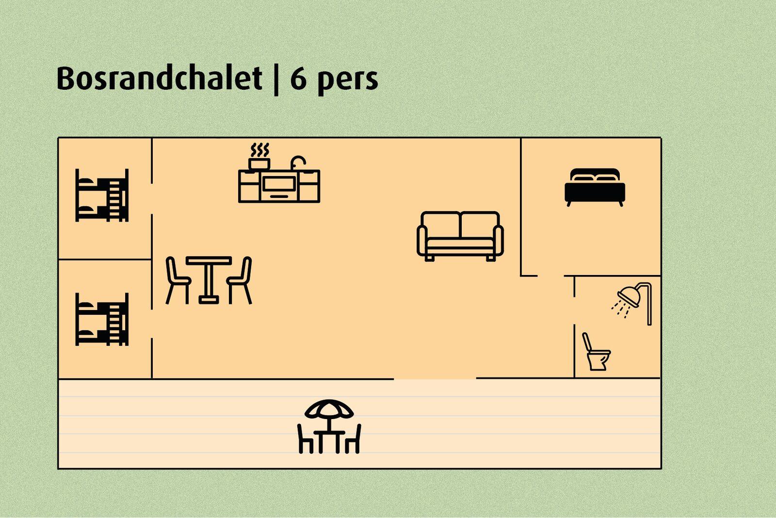 Häuschen am Waldrand | 6 Personen