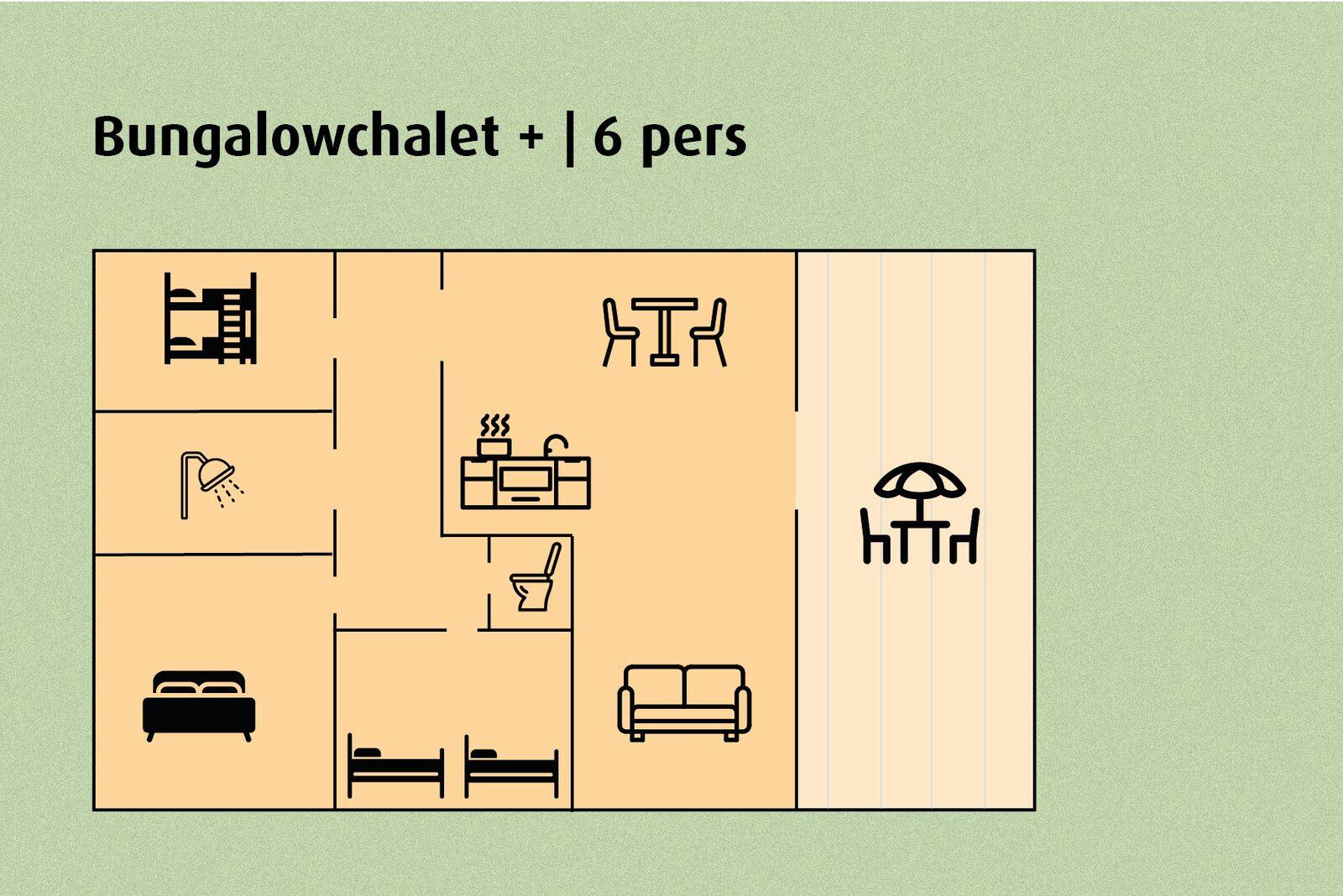 Bungalow Chalet+ | 6 people