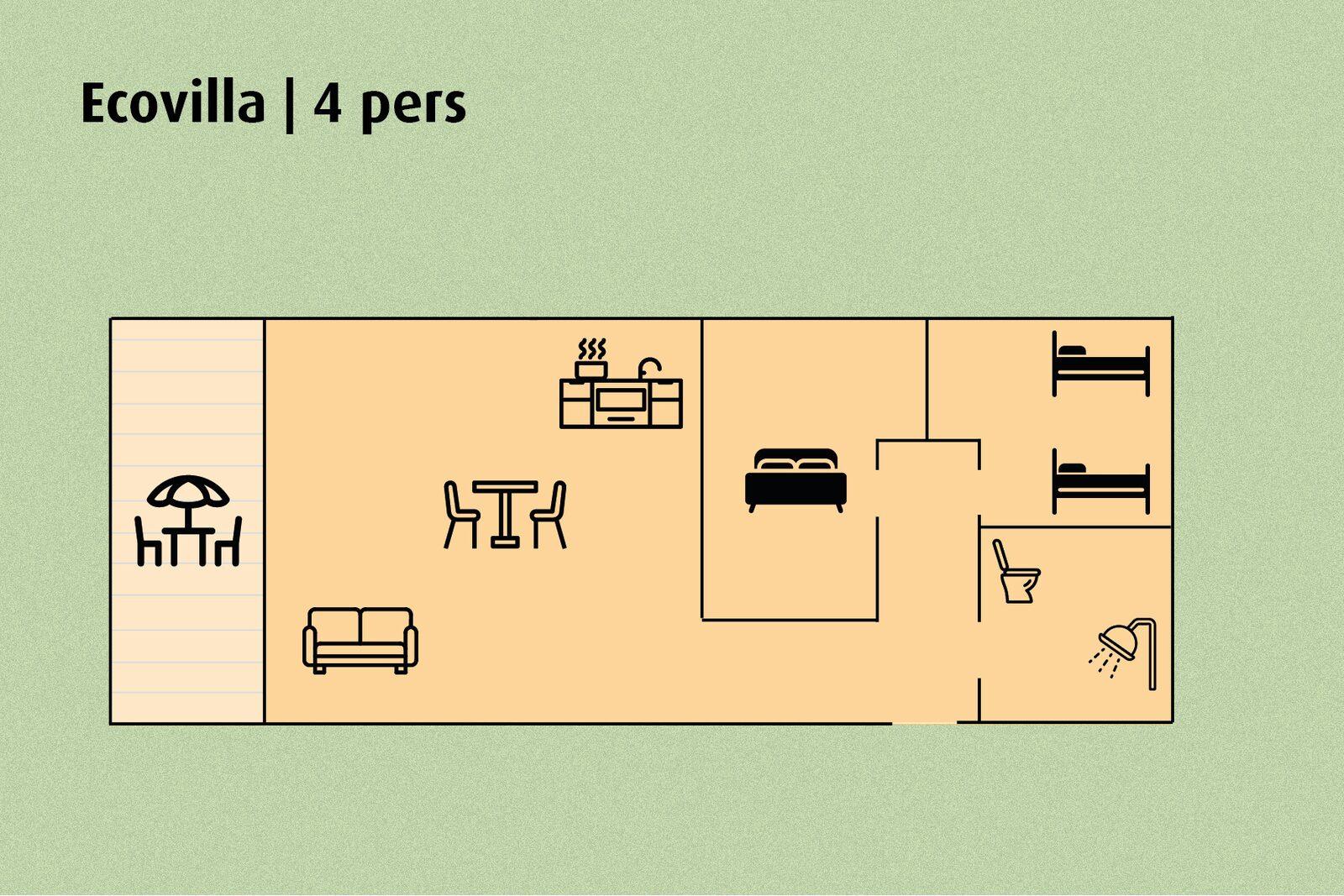 Ecovilla | 4 pers.