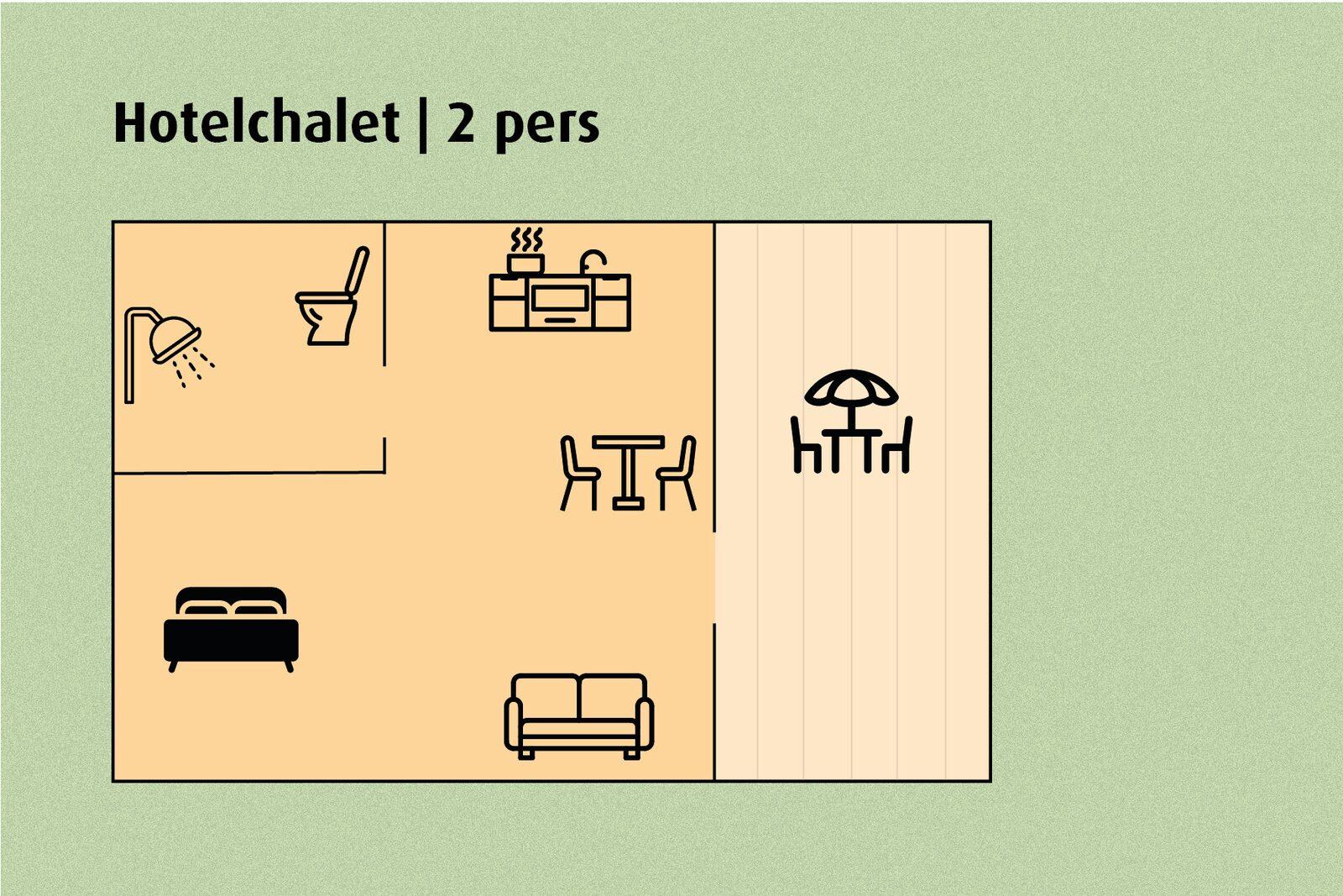 Hotelchalet | 2 pers.