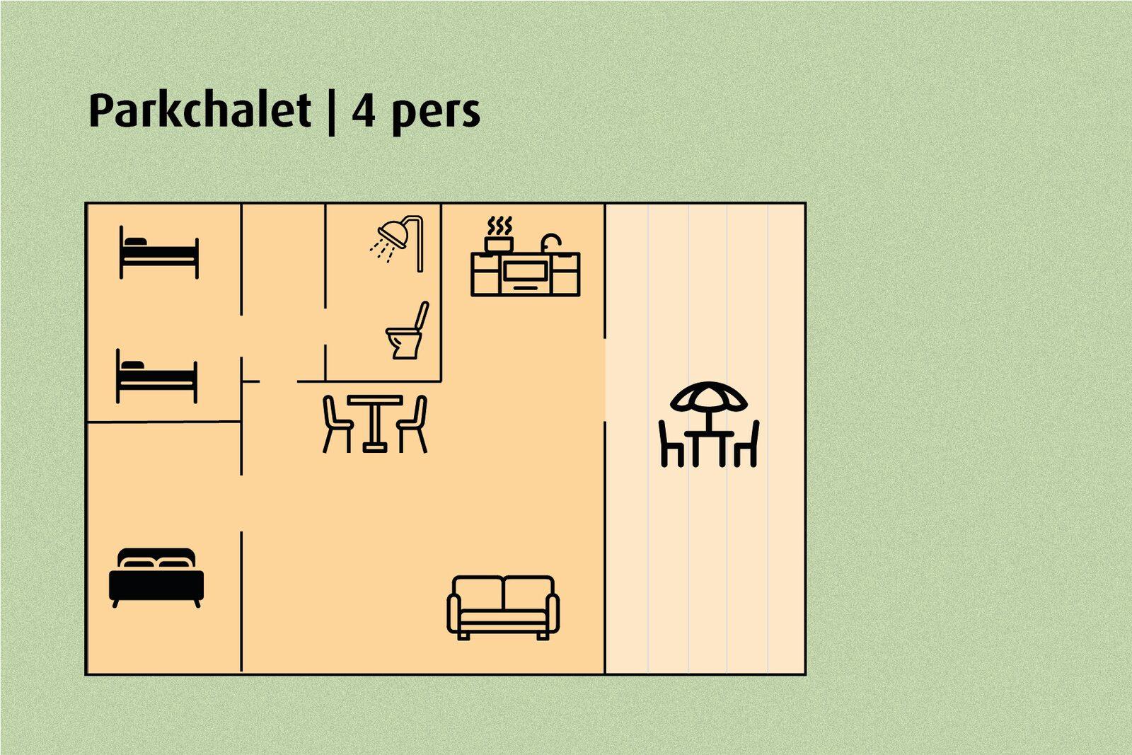 Parkchalet | 4 pers.