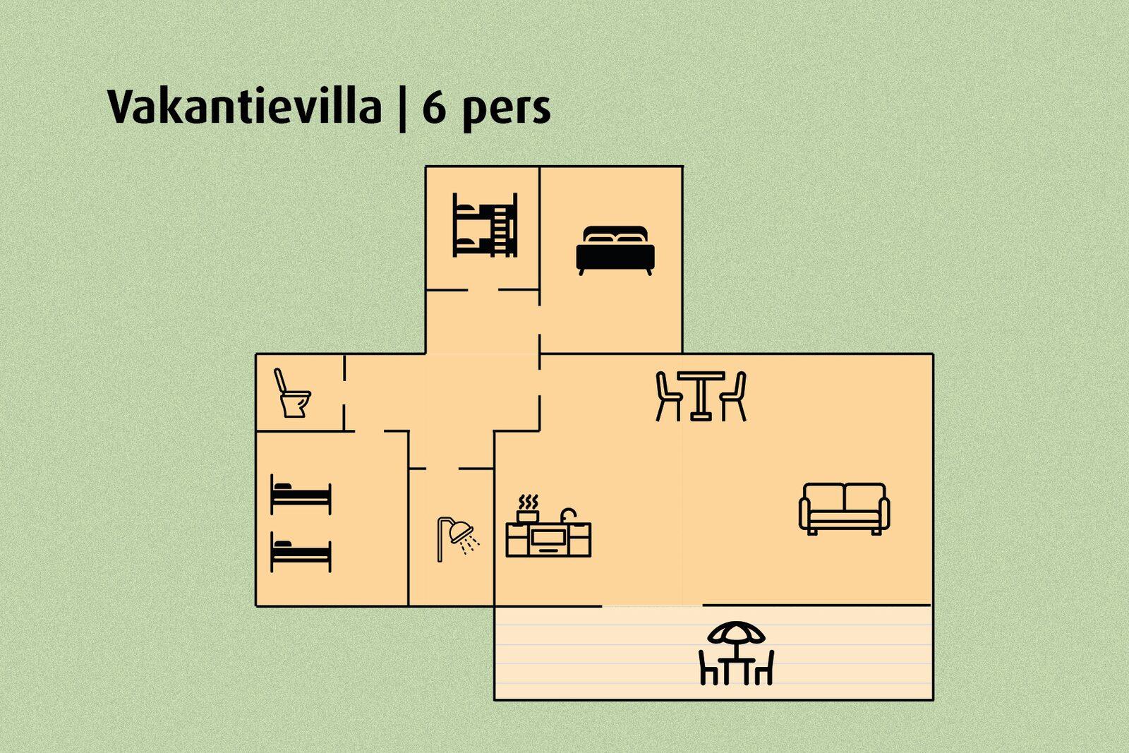 Ferienvilla | 6 Personen