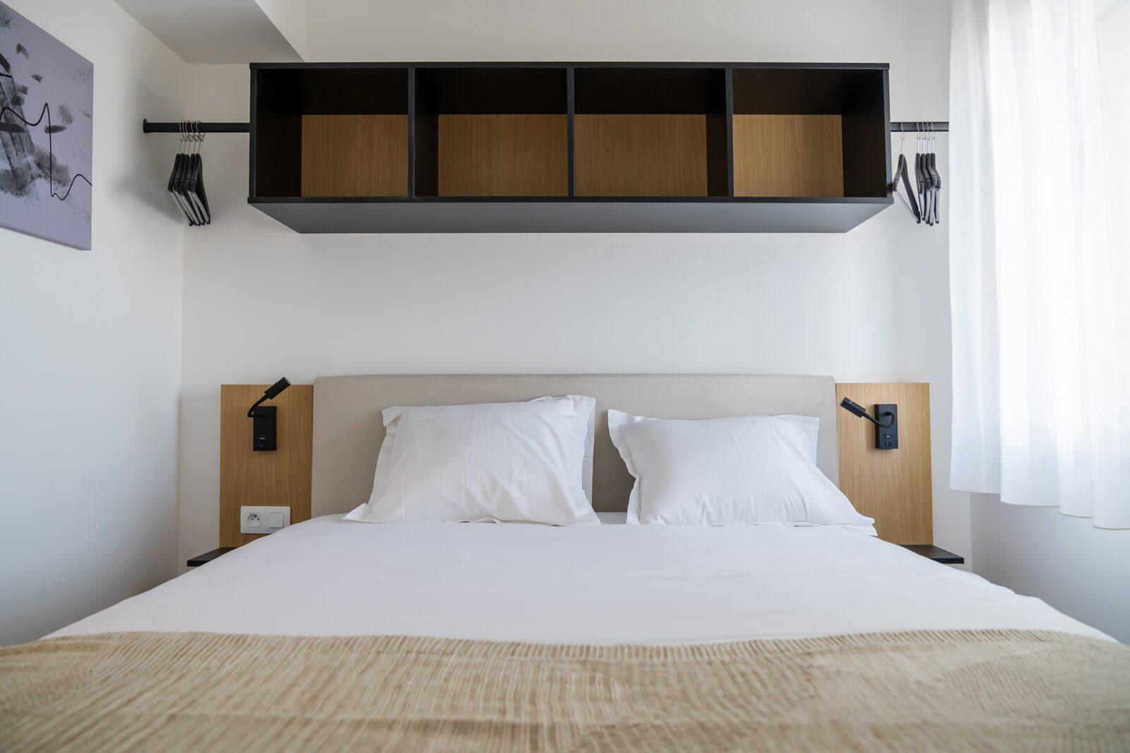 [Standard] Appartement avec une chambre lit double et 2 lits superposés
