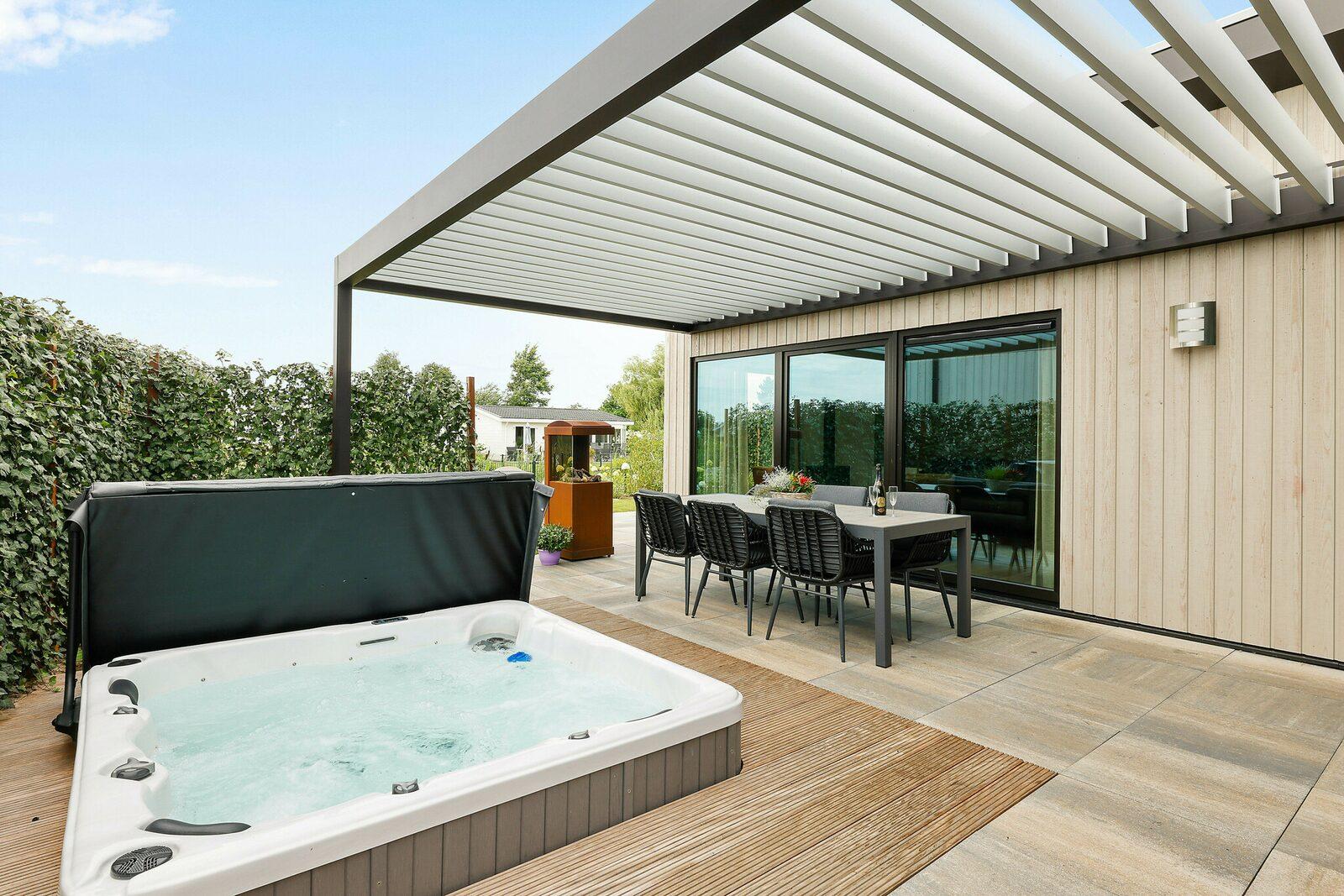Wellness villa for 6 persons, 3 bedrooms