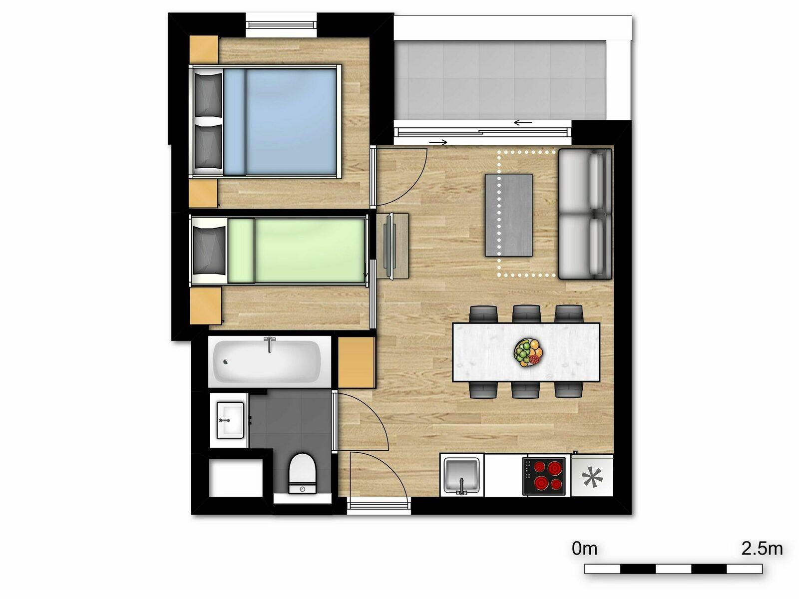 Comfort Suite - 6p | Chambre à coucher - Coin couchage - Canapé-lit