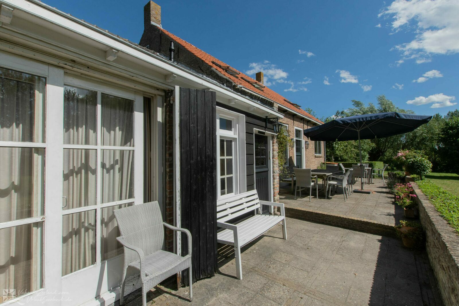 vakantiehuis Nederland, Zeeland, Oudelande vakantiehuis VZ1061 Boerderij in Oudelande