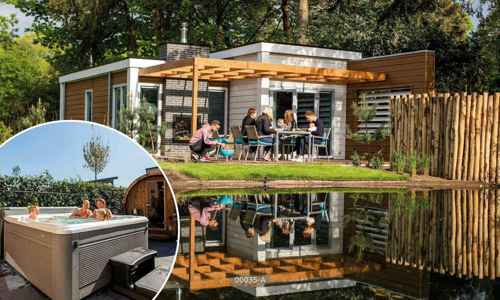 Deluxe 4 personen sauna en spa