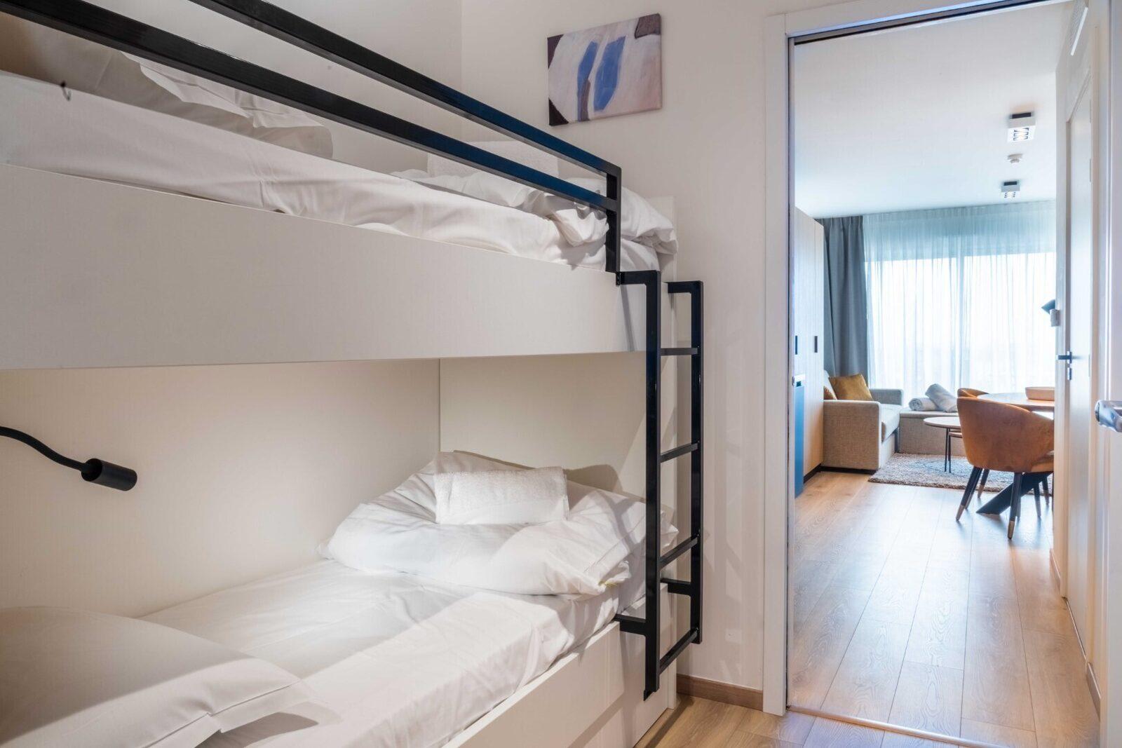 [Luxe] Appartement 3 chambres avec 2 lits doubles & lits superposés