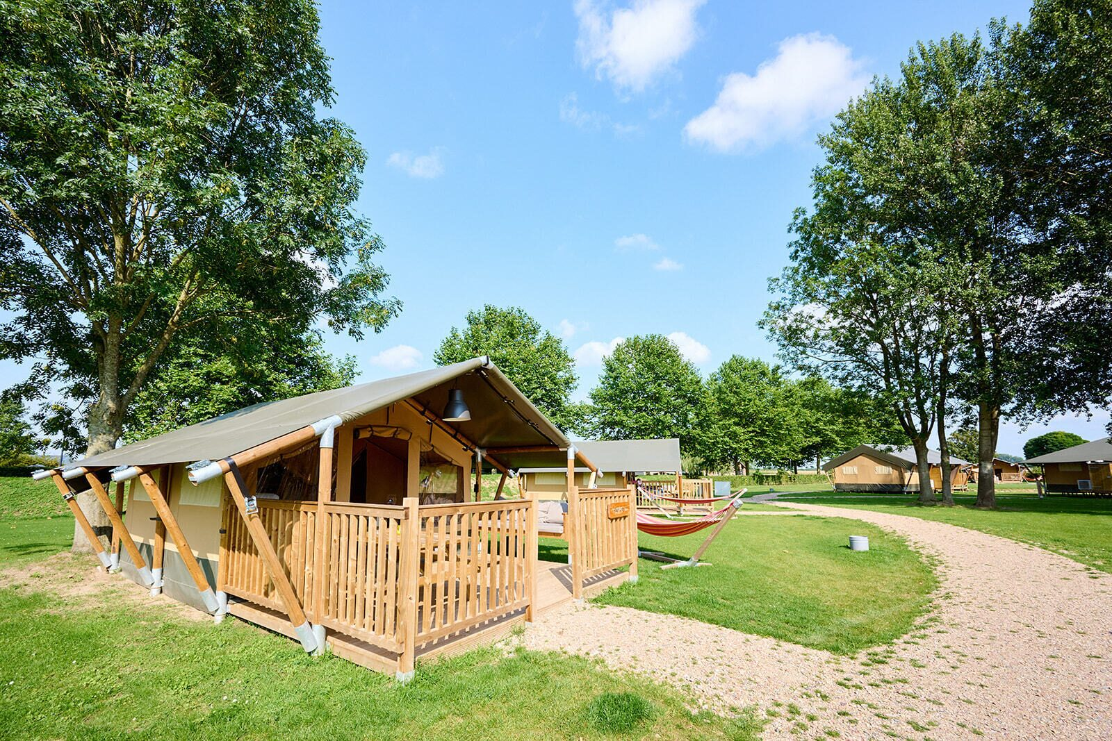 Camping Betuwe | Villatent Compact | 2 pers.