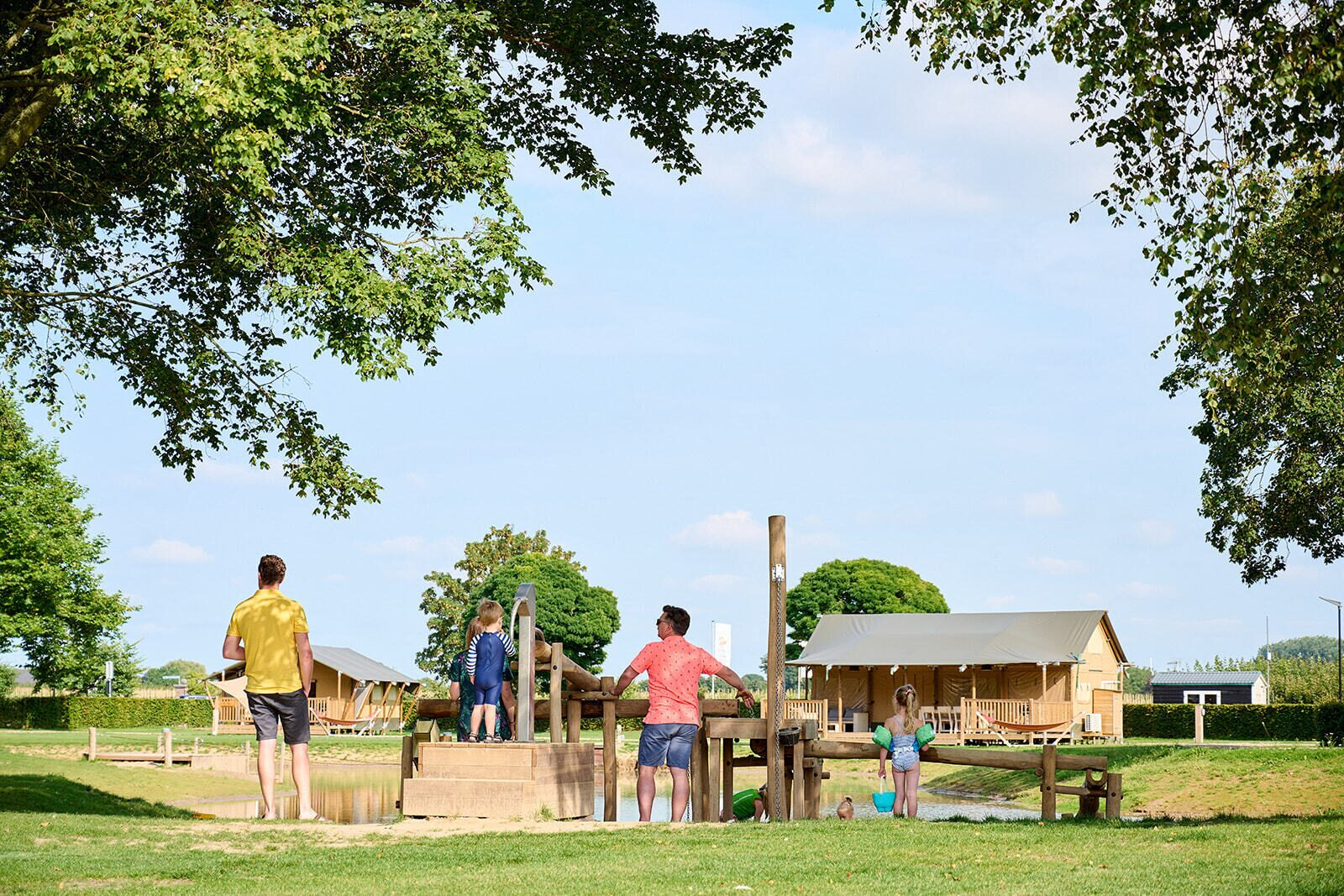 Camping Betuwe | Villatent Compact | 4 pers.