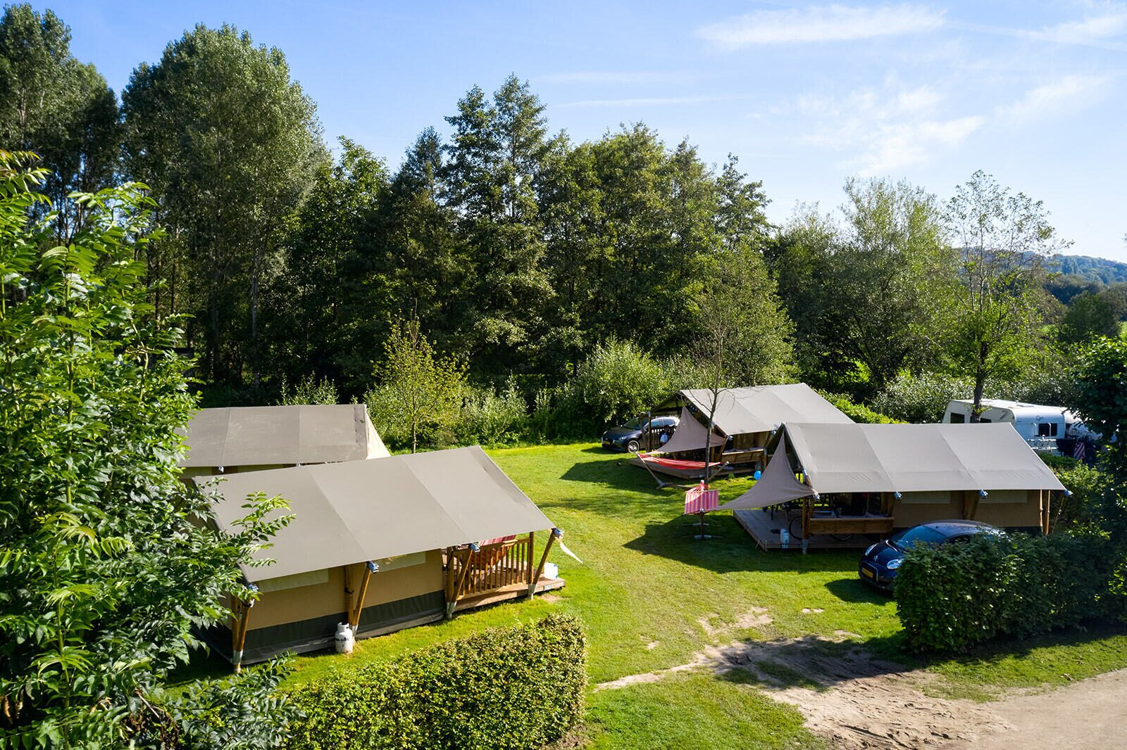 Camping 't Geuldal | Villatent Compact | 4 pers.