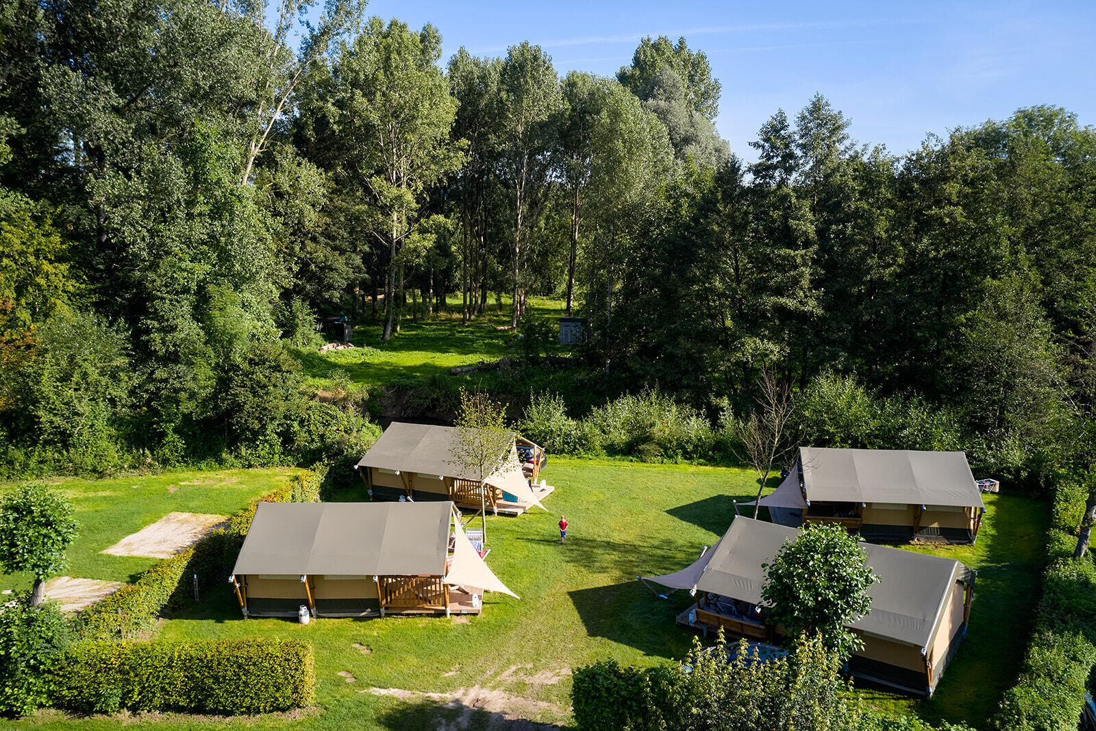 Camping 't Geuldal | Villatent Compact | 2 pers.