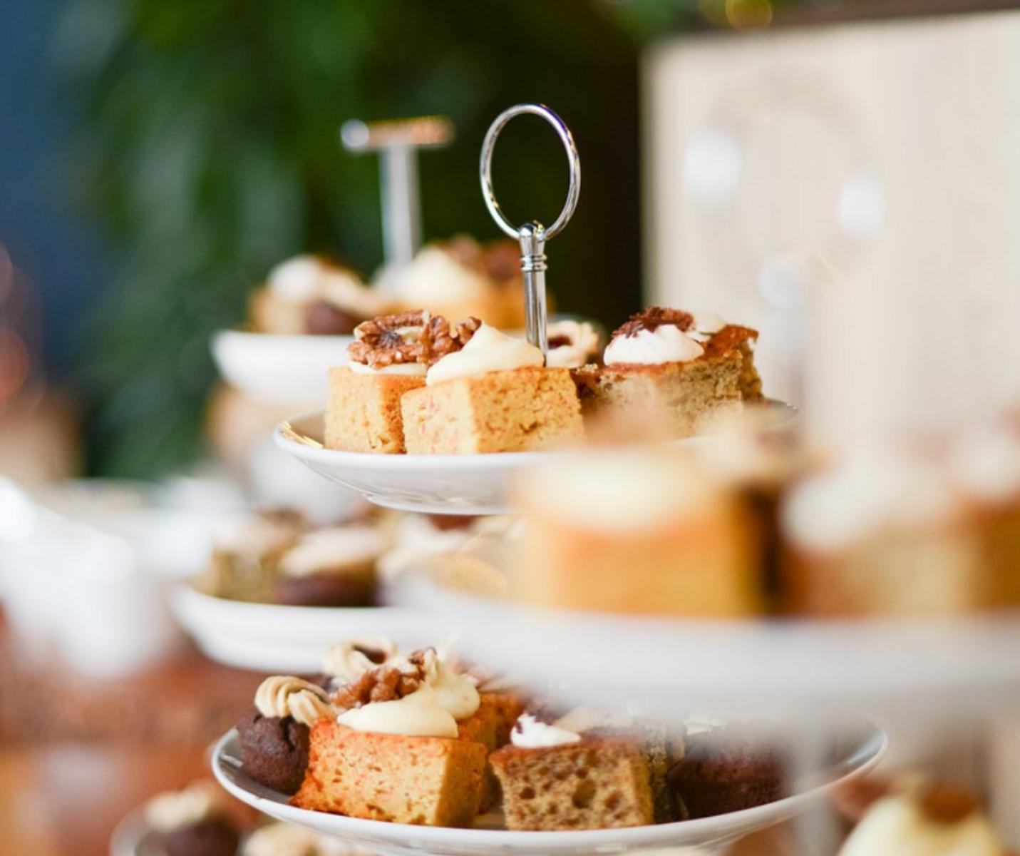 High Tea Wochenende Arrangement 🍰