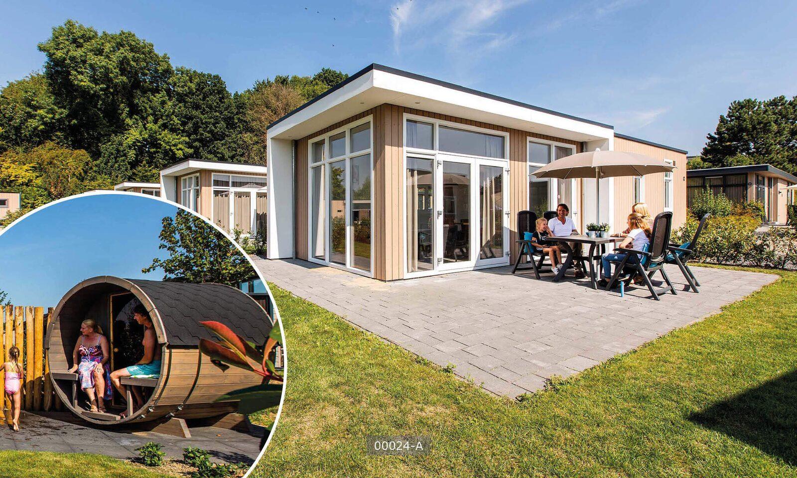 Komfort-Sauna für 6 Personen