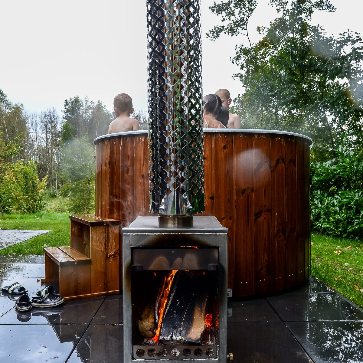 River Cabin with hot tub | 4 pers.