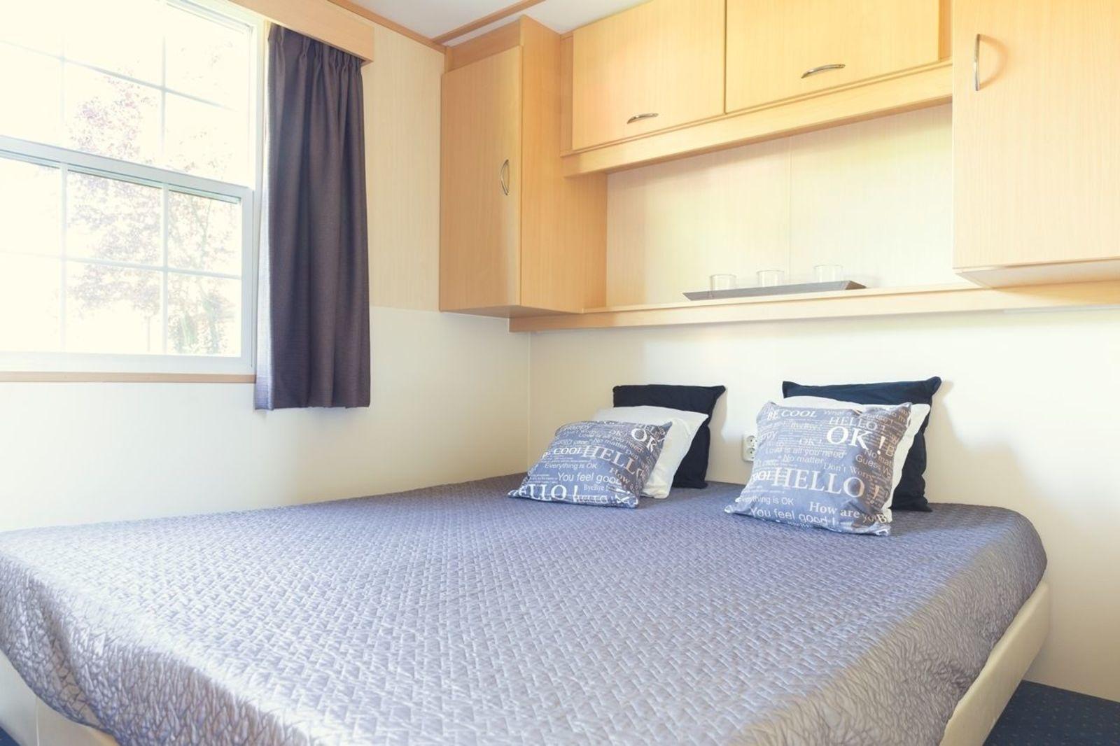 Bungalette 6 personen basis | 2 slaapkamers