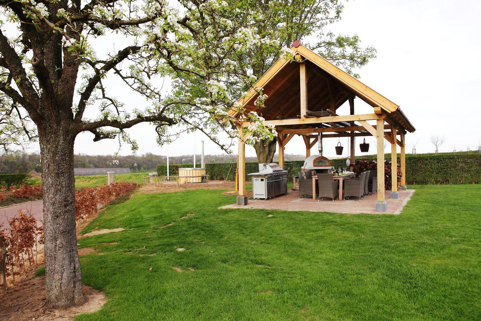 Landgoed St. Geertruid Mirabelle - luxe vakantiehuis met hottub en sauna in Limburg