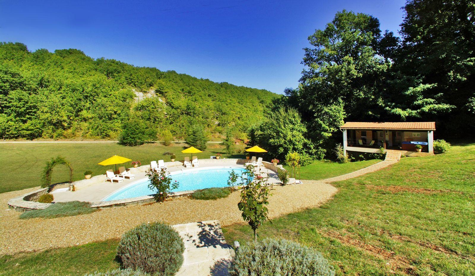 La Nouvelle Source - Abel kleinschalig vakantiedomein Dordogne