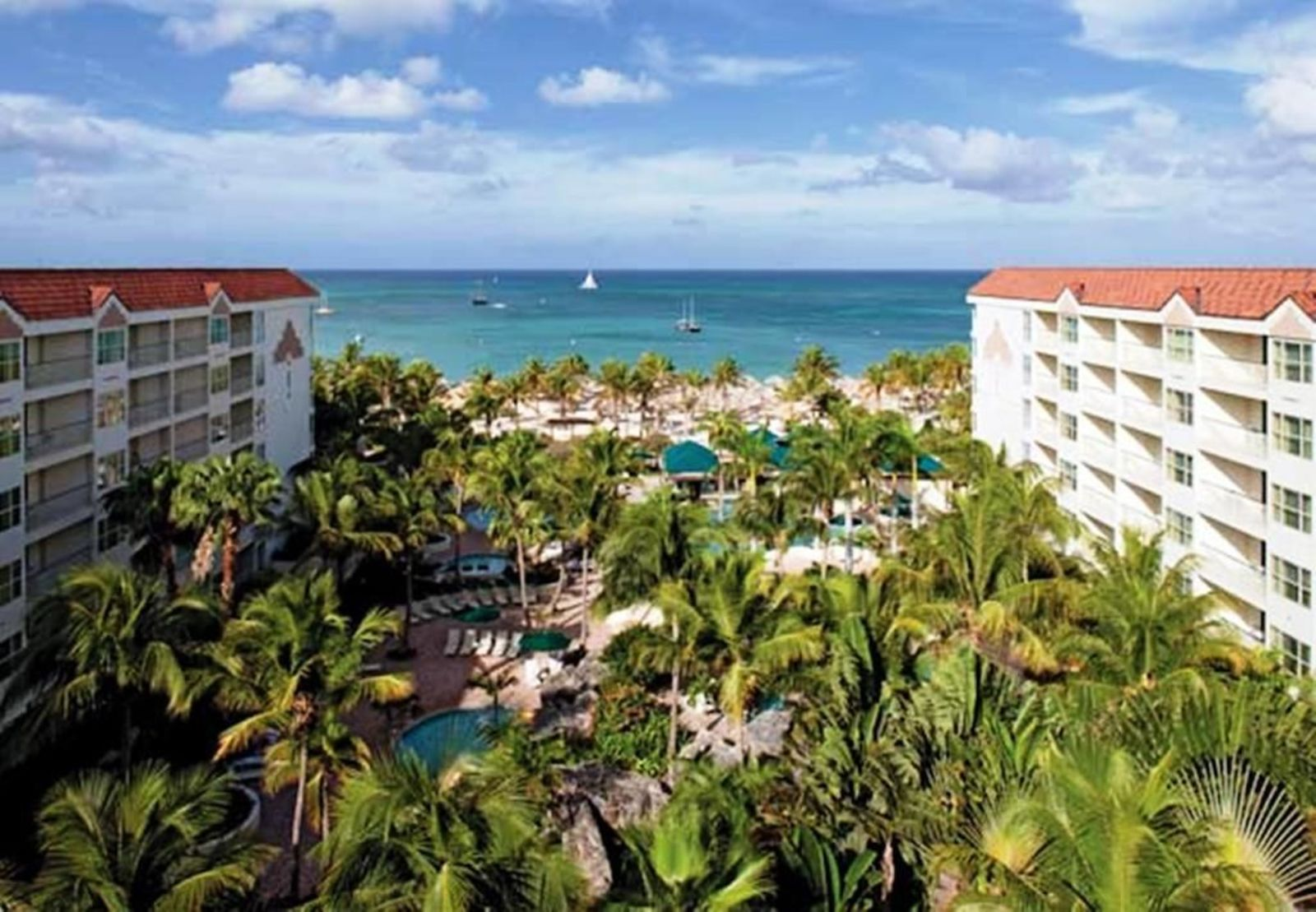 Marriott's Aruba Ocean Club & Marriott's Aruba Surf Club, 1- Cuarto