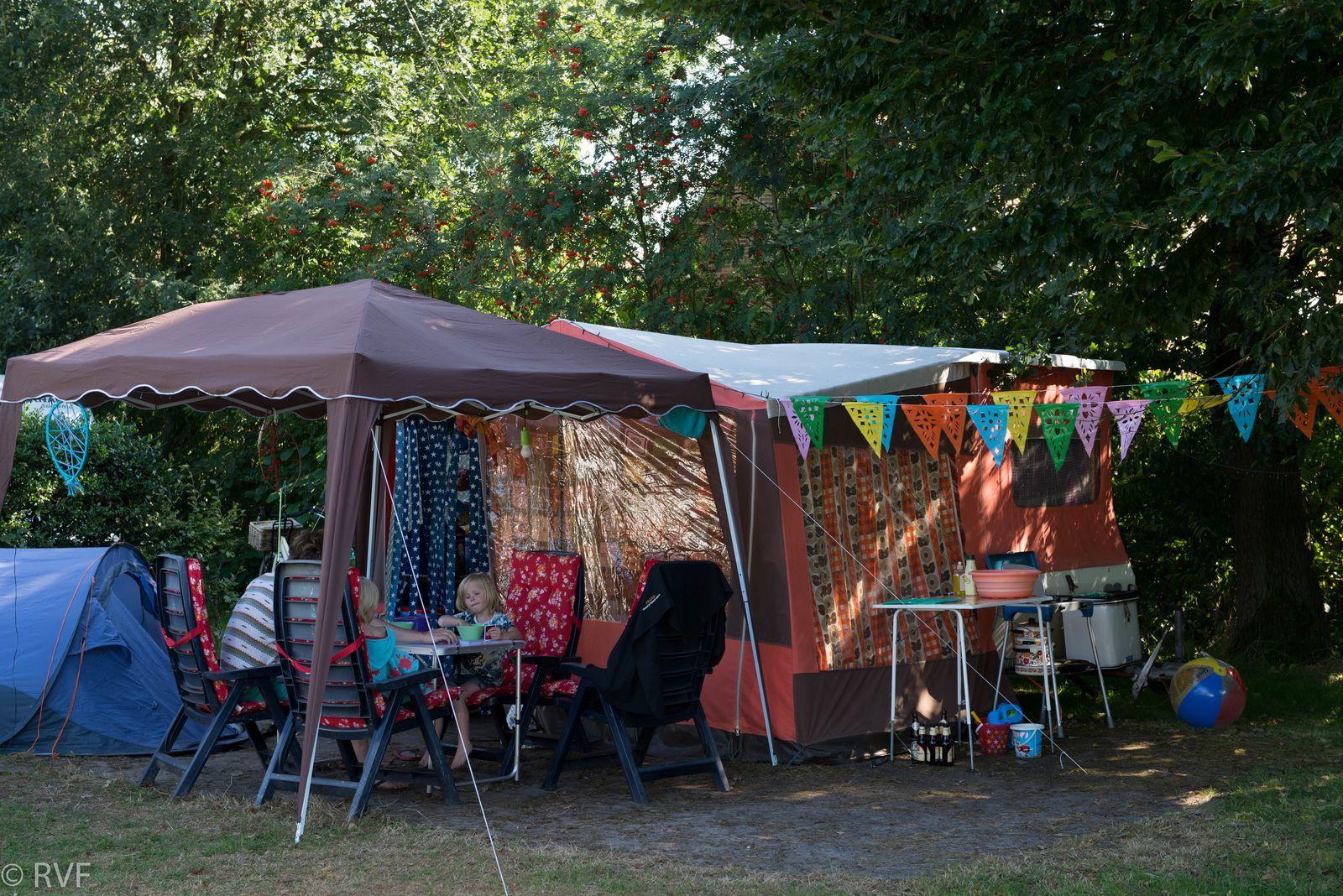 Komfortabler Camping-Stellplatz
