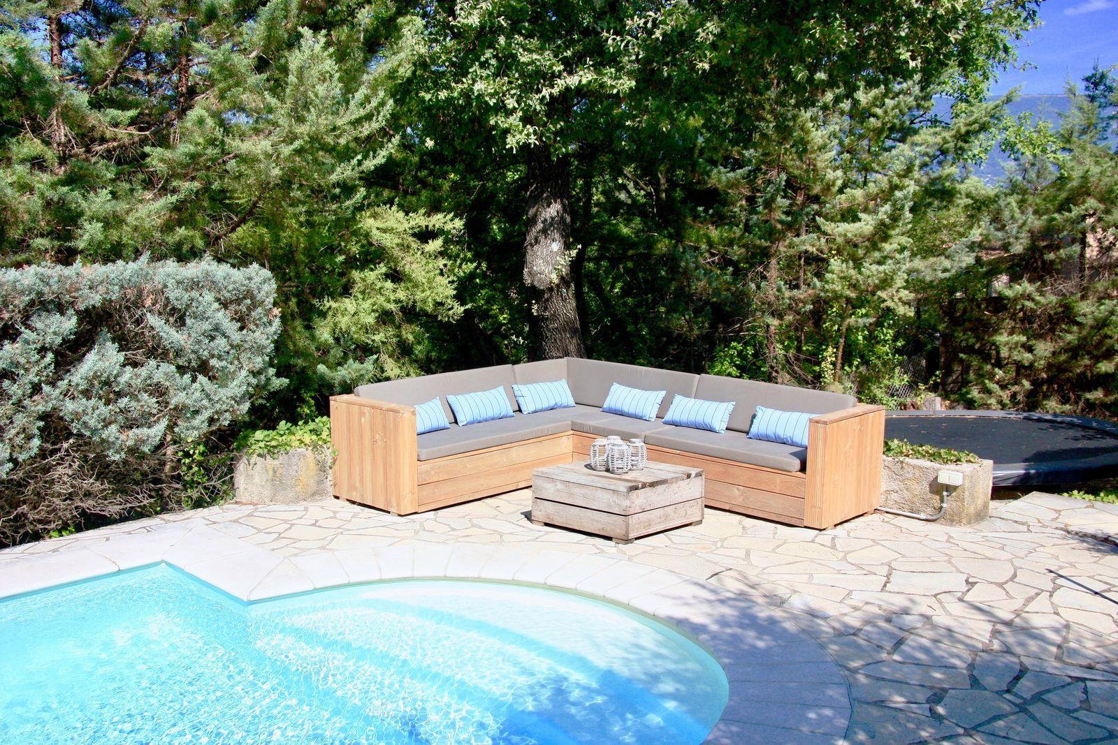 Villa Timo - vakantiehuis met zwembad in Zuid-Frankrijk