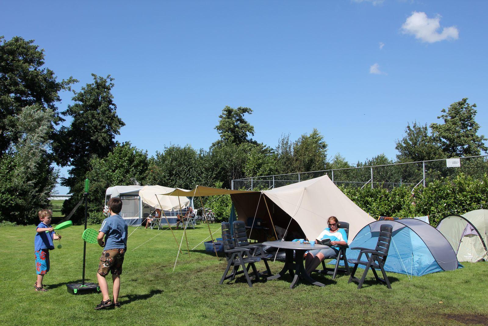 Camper, caravan or tent pitch, 10 Amp