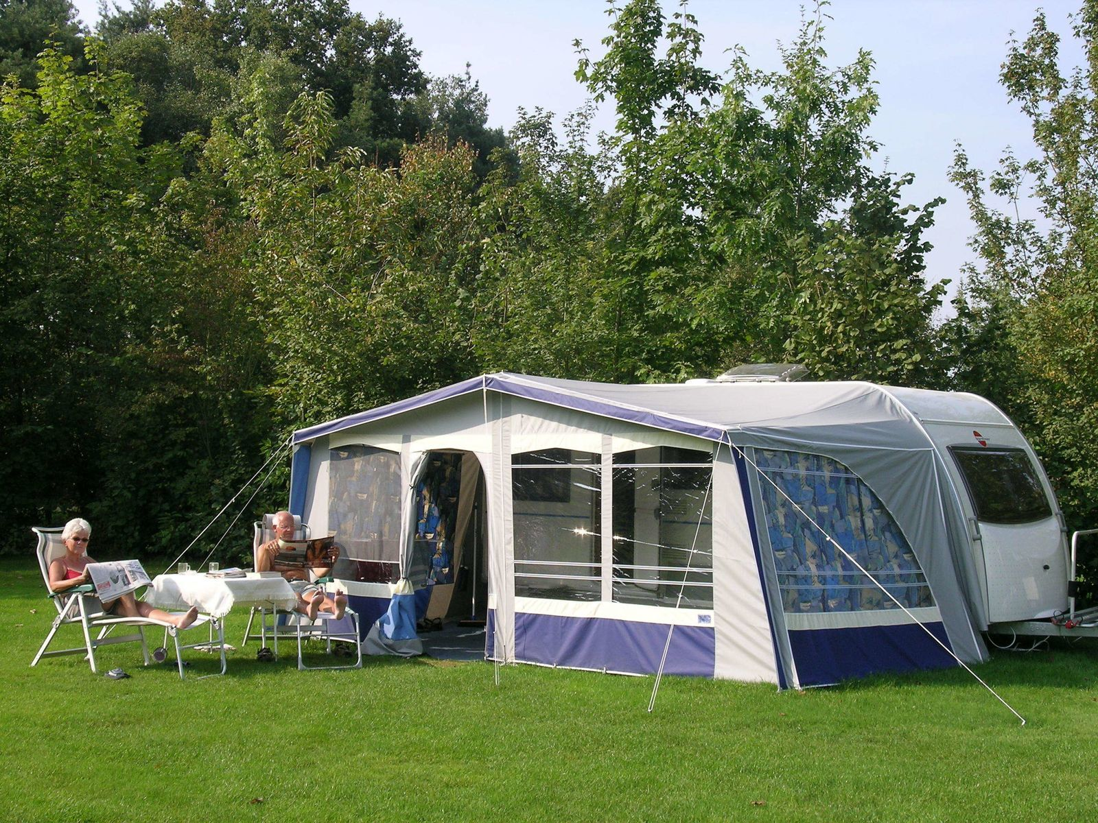 Camping pitch incl. 2 persons, excl. water/electricity