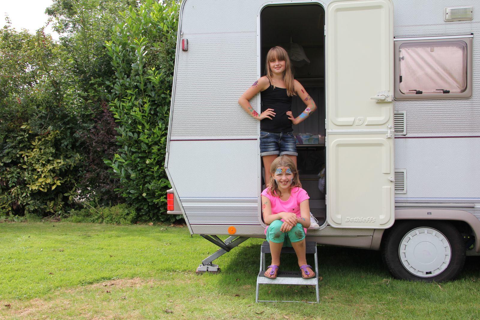 Kampeerplaats: Caravan of Tent, 10 Amp