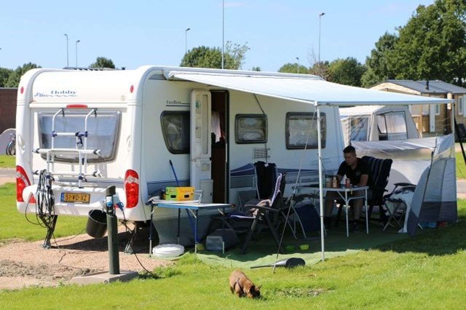 Camping / Camper pitch Comfort