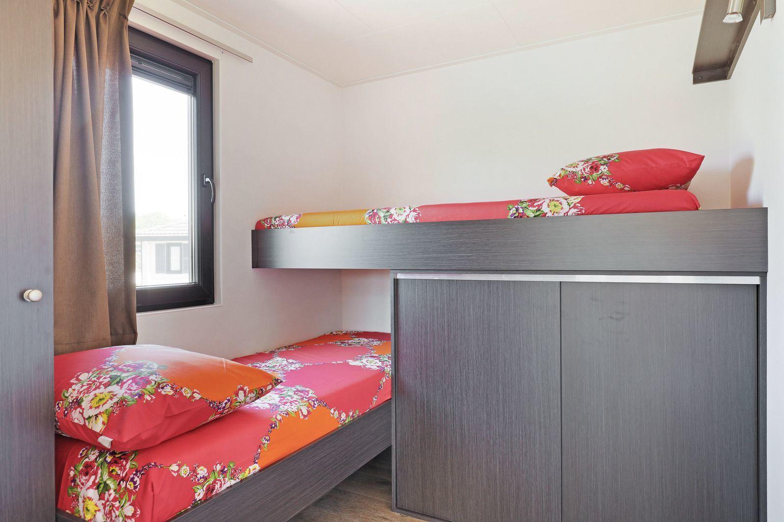 Watervilla: 6-persoons, 3 slaapkamers