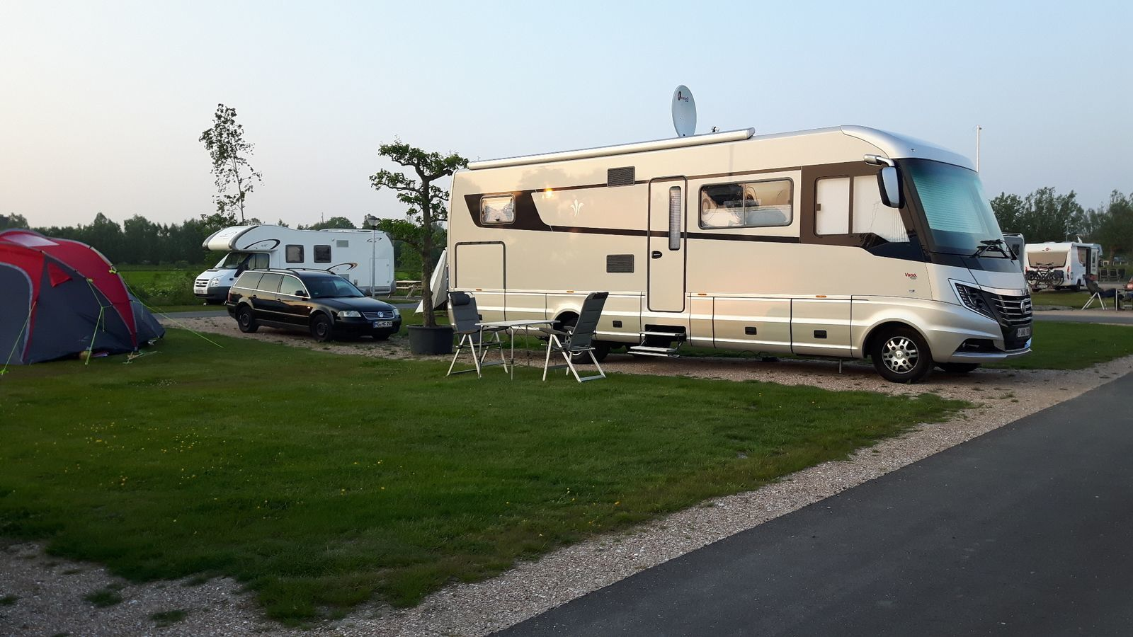 Motorhome pitch Standard