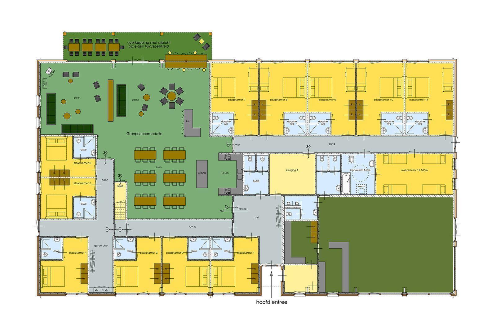 Group accommodation Mander