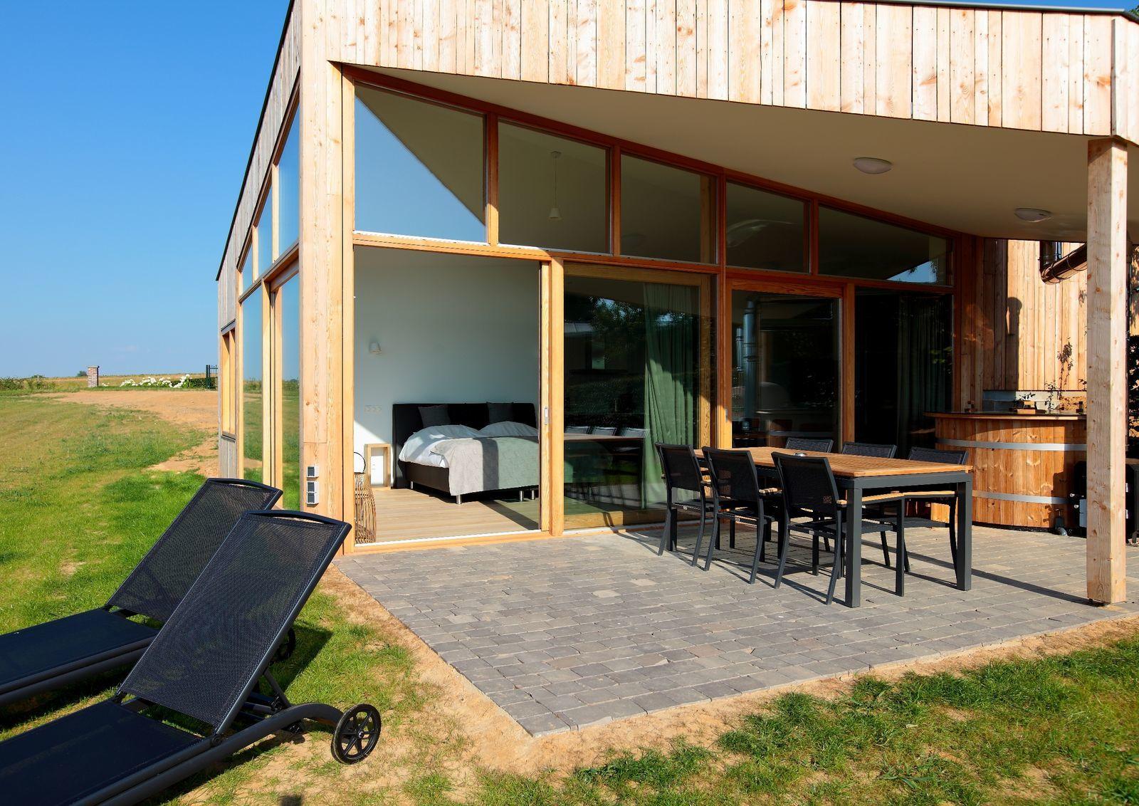 Landgoed St. Geertruid - Natuurloft® Aarde met hottub en pizzaoven