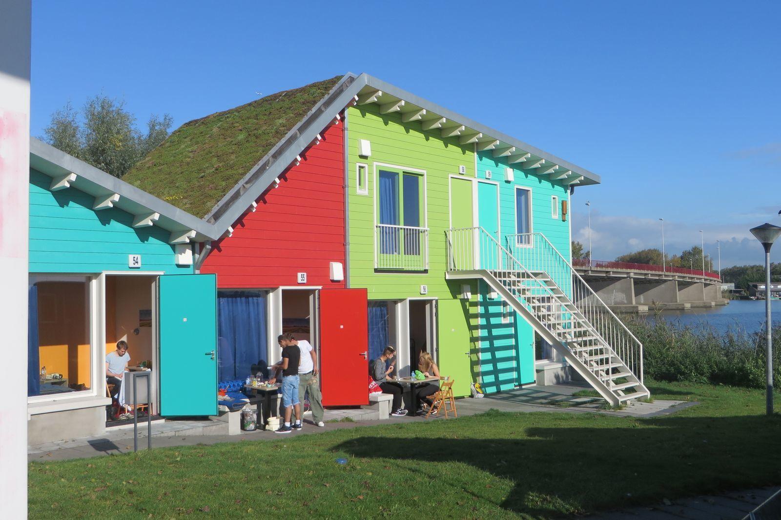 2x Eco-Cabins für 2 Personen nebeneinander
