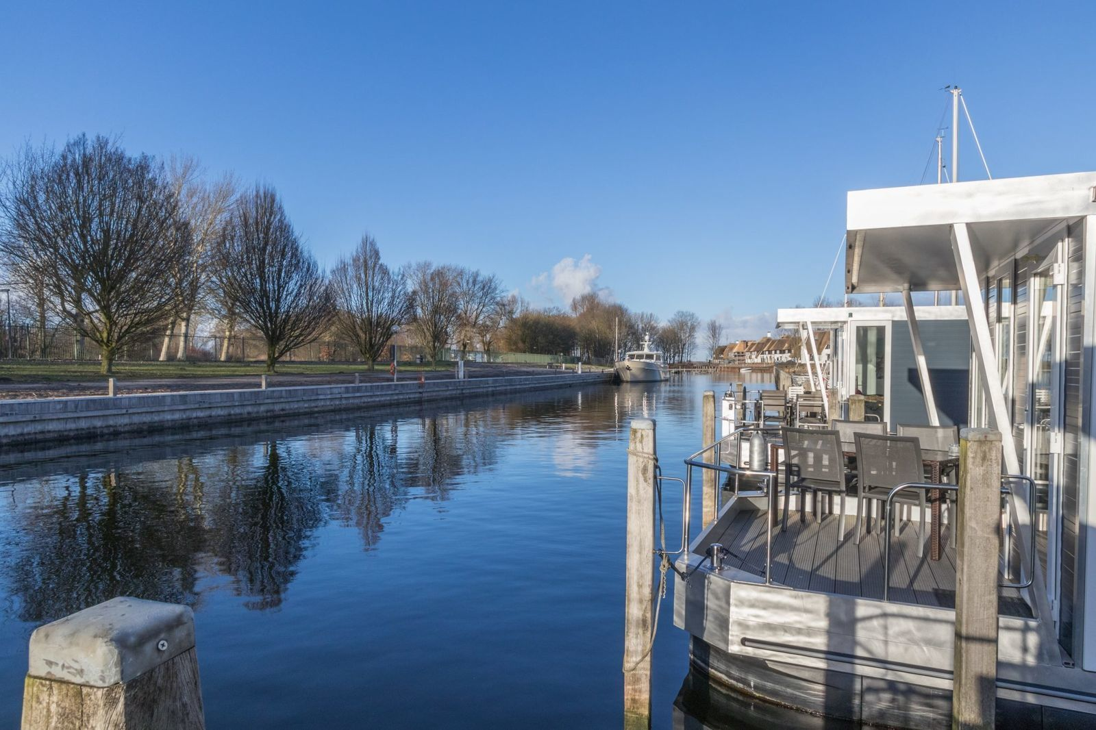 Havenlodge pour six personnes à Naarden