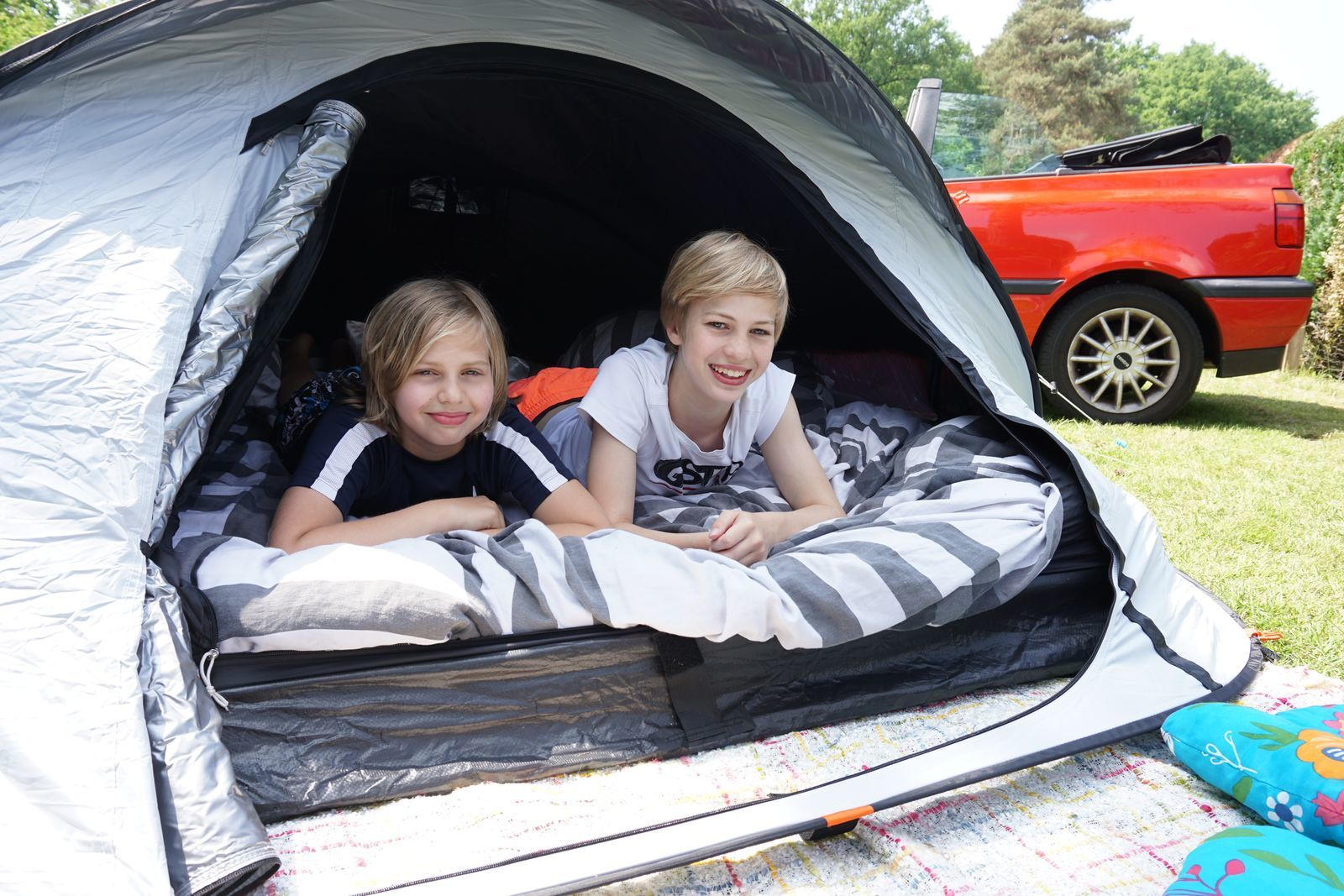 Campingfeld für Wanderer